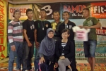 Bela diri PENCAK SILAT di Ngabang, Kalimantan Barat