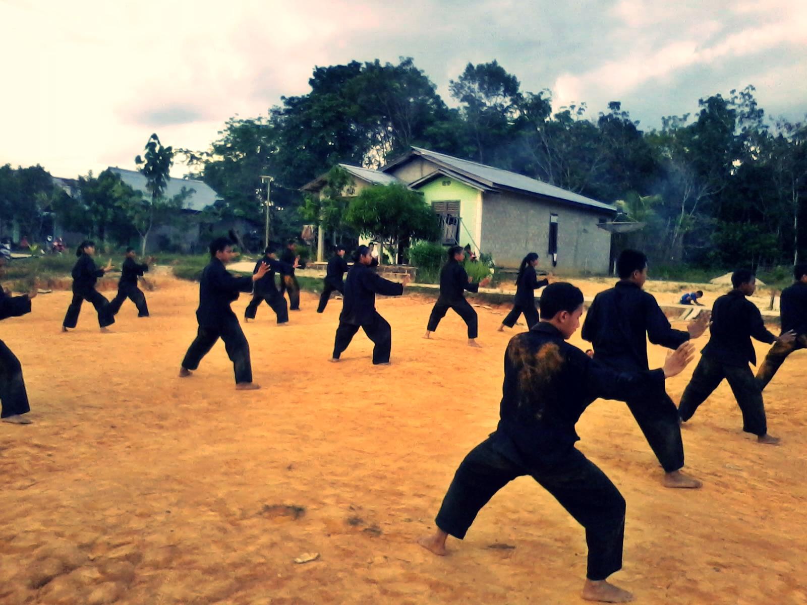 Seni Bela diri di Ngabang, Kalimantan Barat, PSHT Jaya dimanapun ...